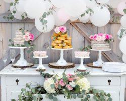 cozy vibe dessert table