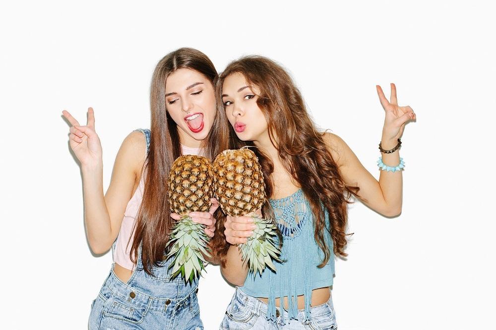 cozy vibe beauty pineapple