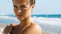 cozy vibe beauty face beach