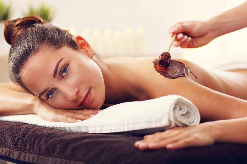 cozy vibe beauty body chocolate care