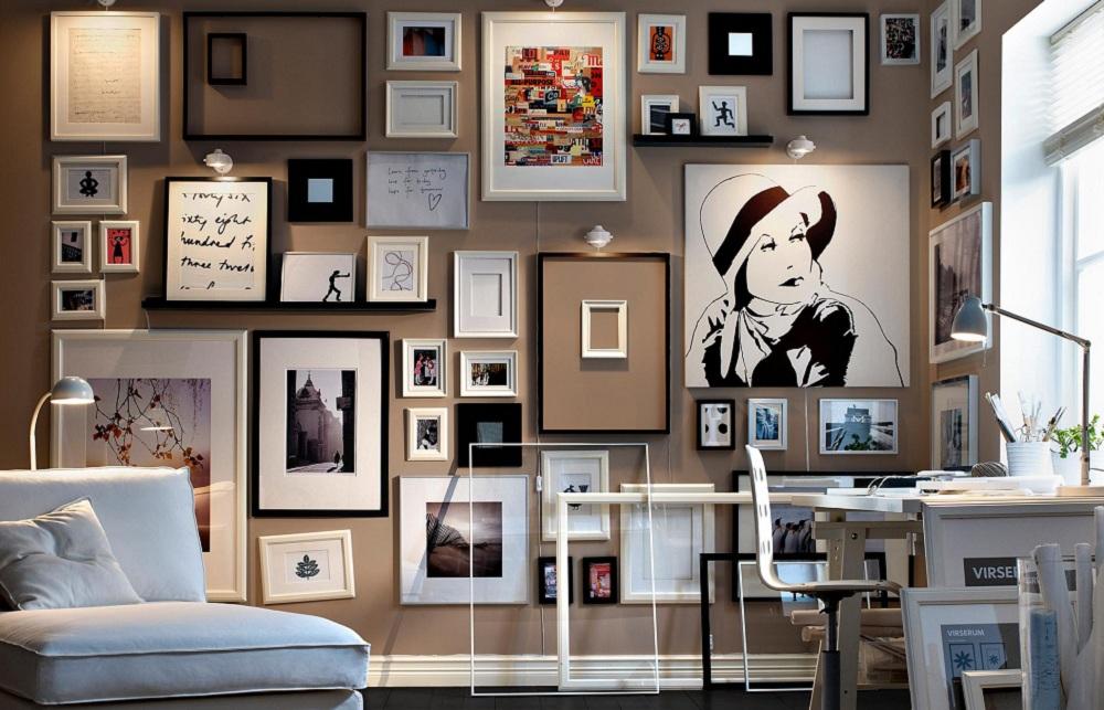 cozy vibe decoration frame wall
