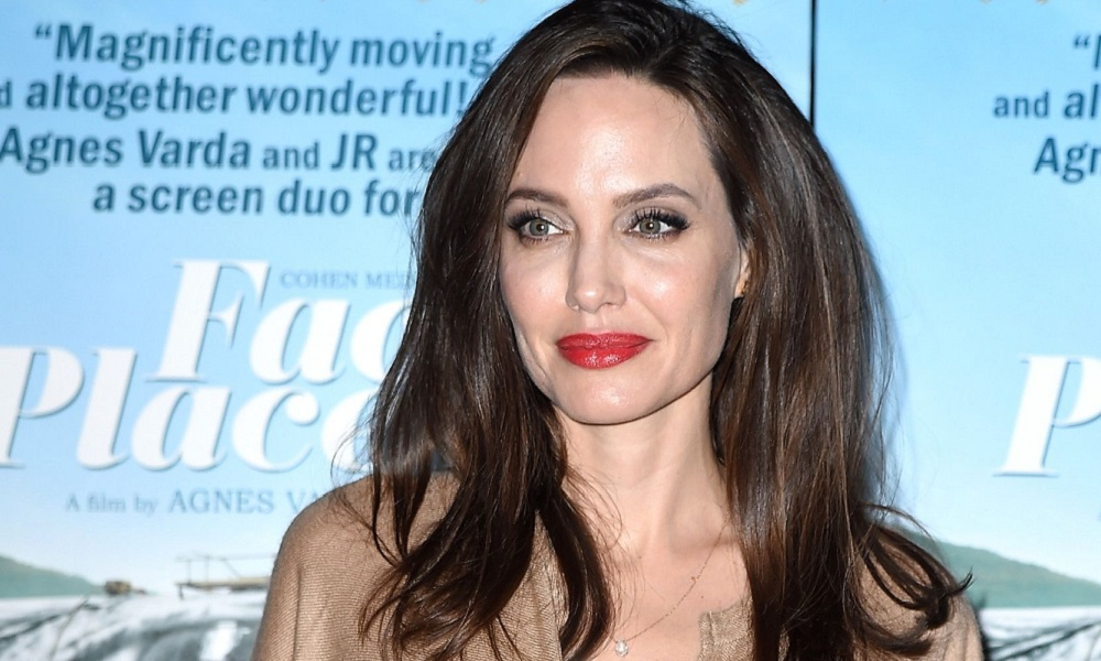 cozy vibe celebrities Angelina Jolie