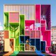 cozy vibe architecture future hotel