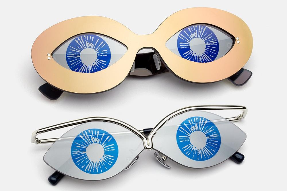 cozy vibe fashion Andy Warhol eyewear