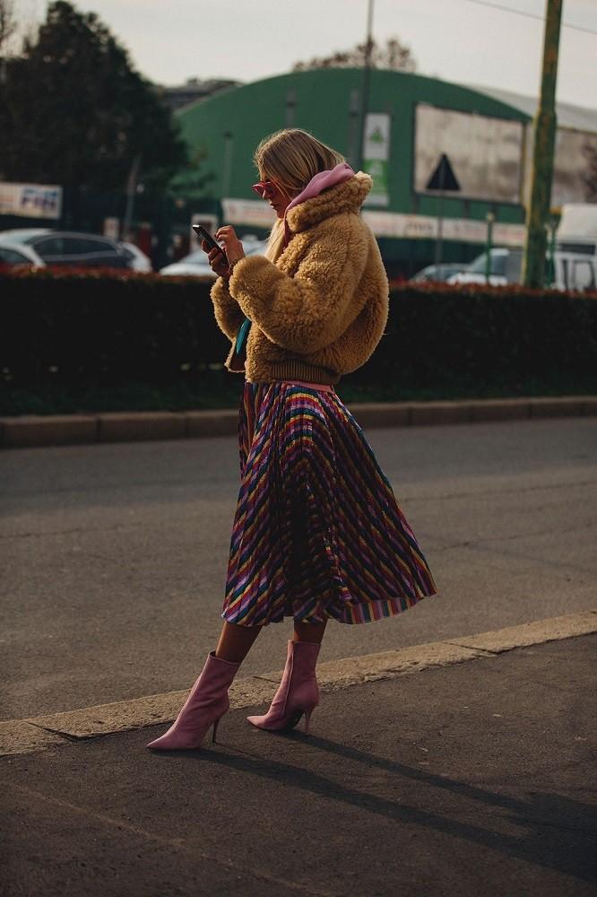 cozy vibe fashion news street style