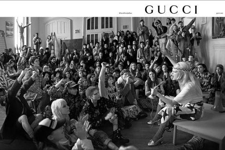 cozyvibe fashion gucci campaign
