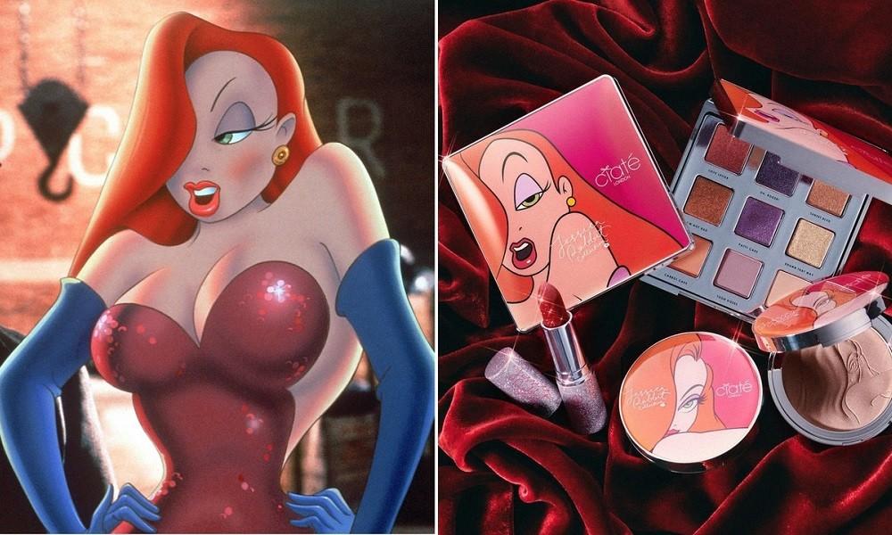Η Jessica Rabbit, πρωταγωνίστρια, σε μία λαμπερή make up collection