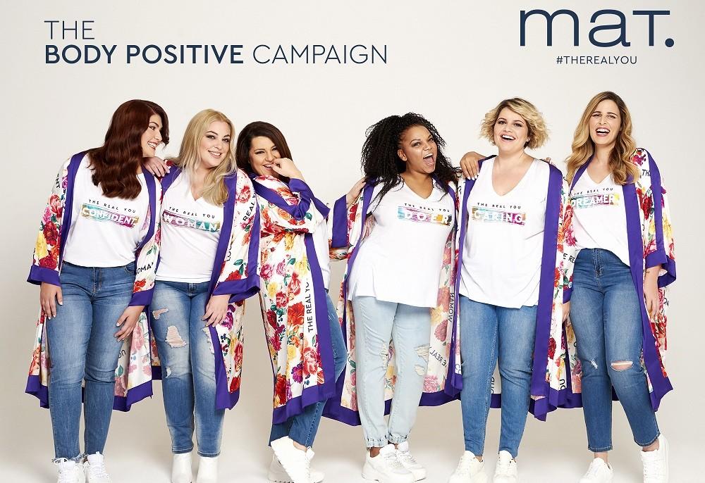 "Mat Fashion S/ S 2019: ""The Body Positive"" campaign February 27, 2019 12:15 Maria Mylona SHARE"