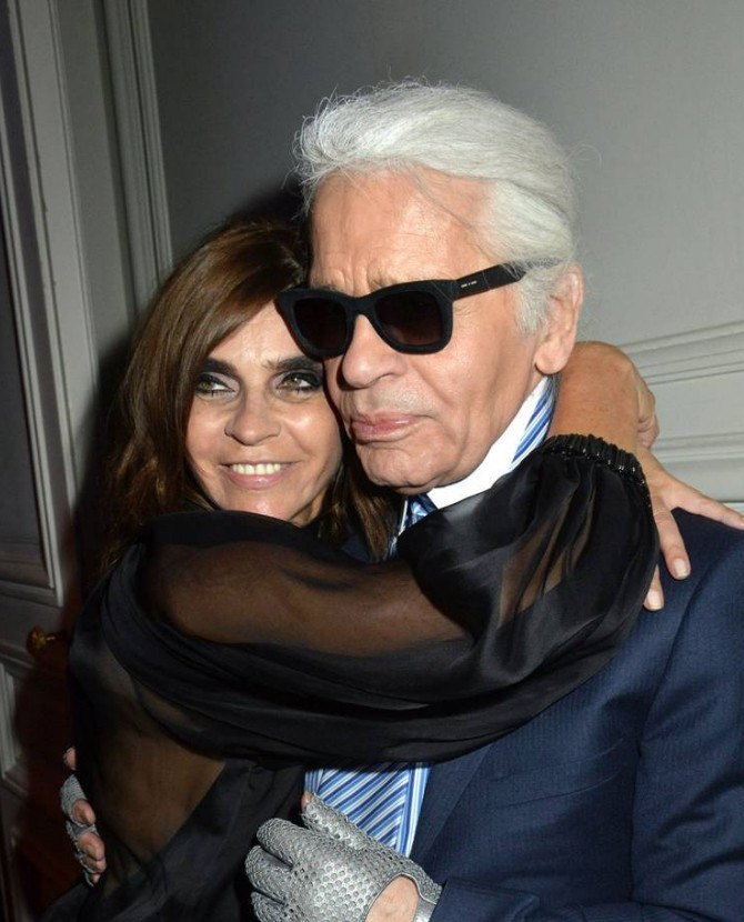 H Olivia Palermo σχεδιάζει για τον Karl Lagerfeld - CozyVibe b459c83001a