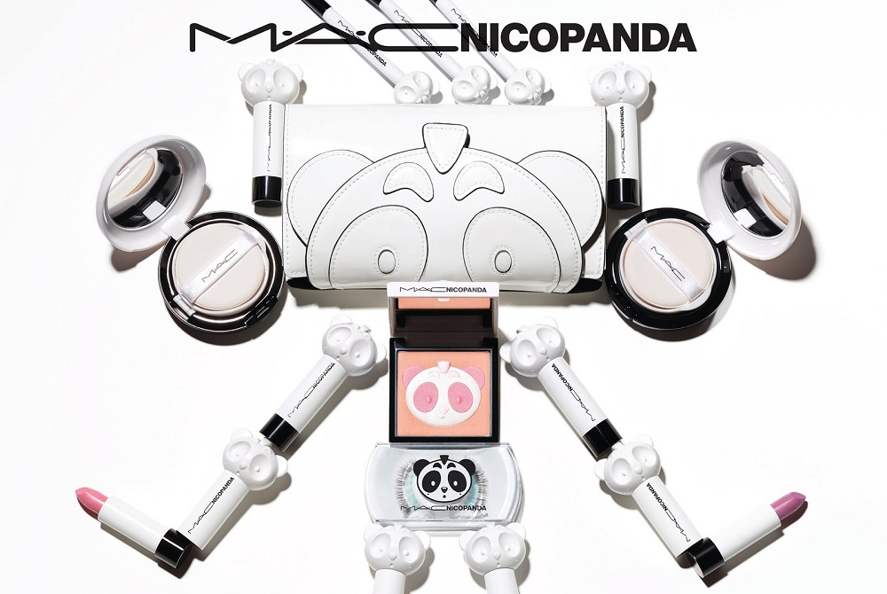 The colorful Mac x Nicopanda beauty collection