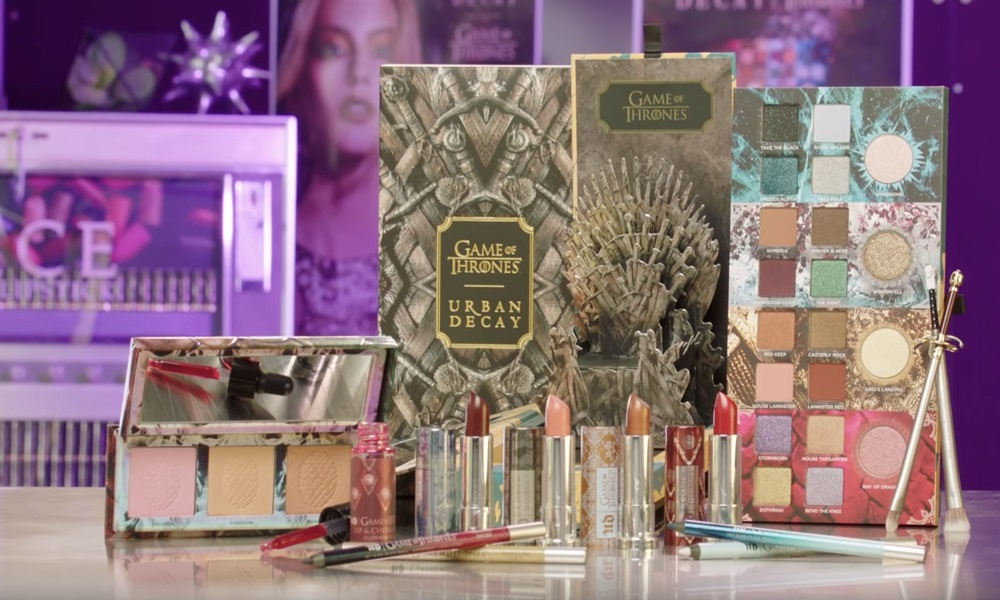 Inside look στην Urban Decay Game of Thrones Collection
