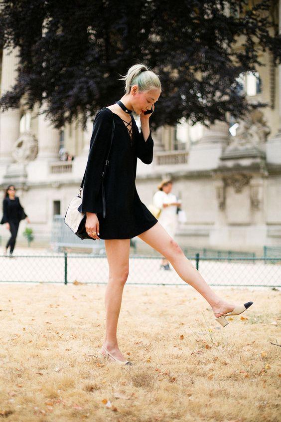 Πως να φορέσετε τα stylish slingback shoes
