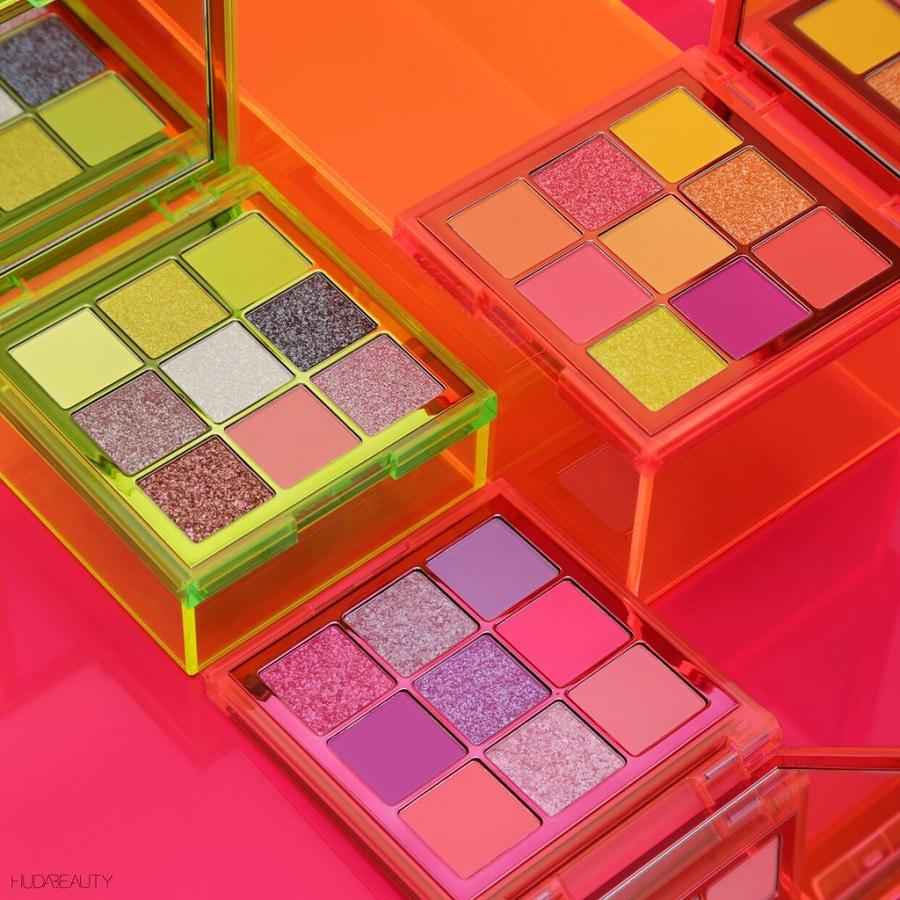 To brand Huda Beauty μας συστήνει τις νέες του neon παλέτες