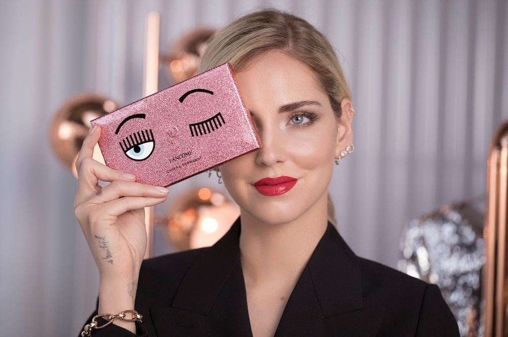 Lancôme x Chiara Ferragni make up collection