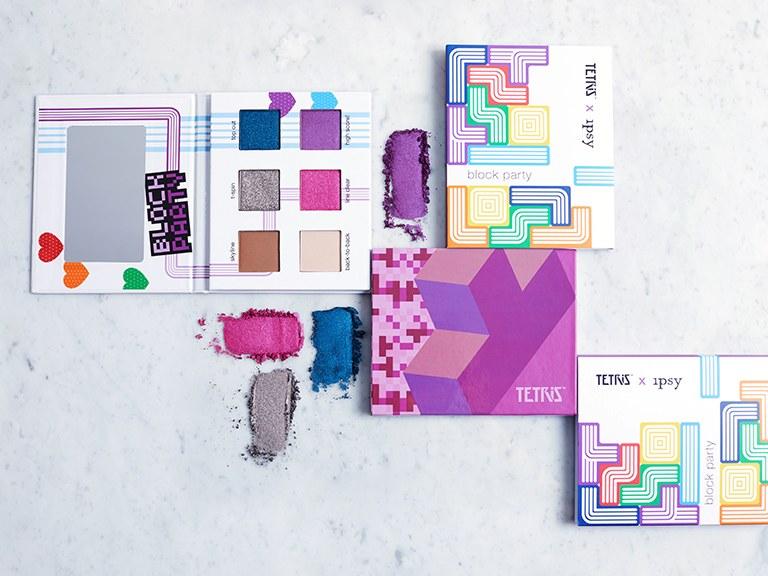 Retro beauty άρωμα με την Tetris makeup collection