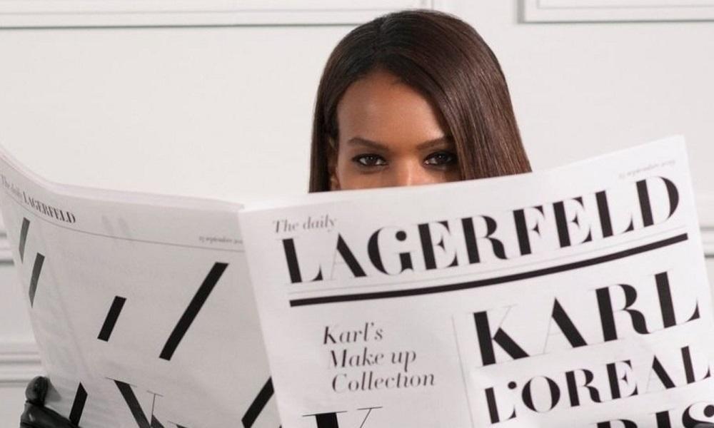 Η L'Oréal Paris λανσάρει συλλογή με την υπογραφή του Karl Lagerfeld