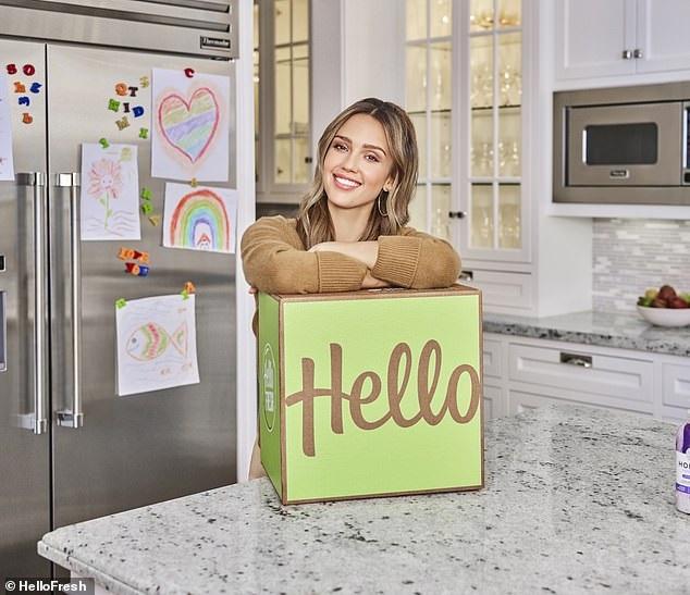 H Jessica Alba έτοιμη να κατακτήσει τον κόσμο της γεύσης