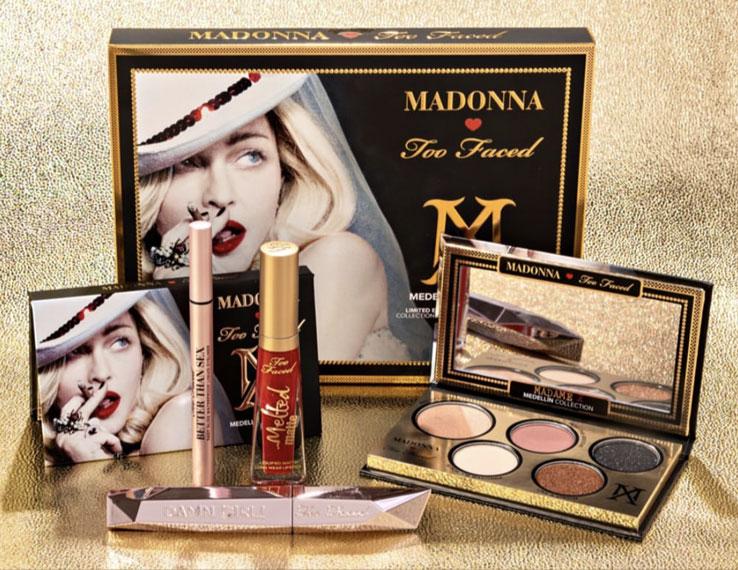 Η Βασίλισσα της pop, Madonna, σε μία νέα beauty συνεργασία