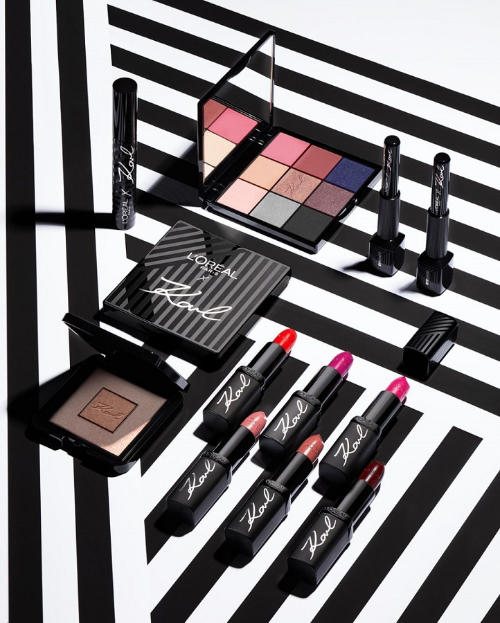 Η νέα Karl Lagerfeld X L'Oréal Paris makeup συλλογή