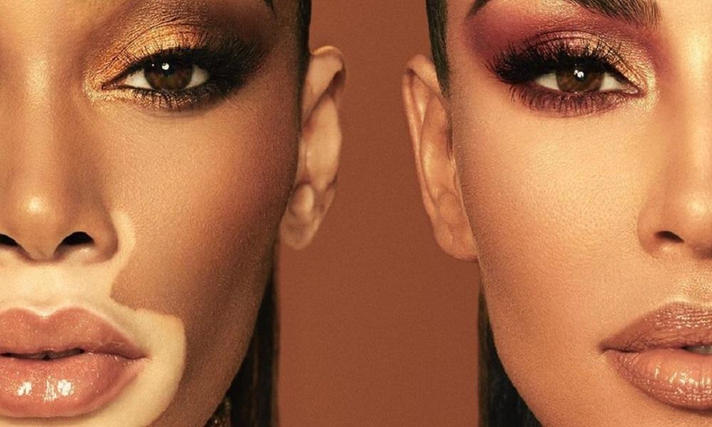 Η Kim Kardashian και η Winnie Harlow μας προετοιμάζουν για την beauty collection τους