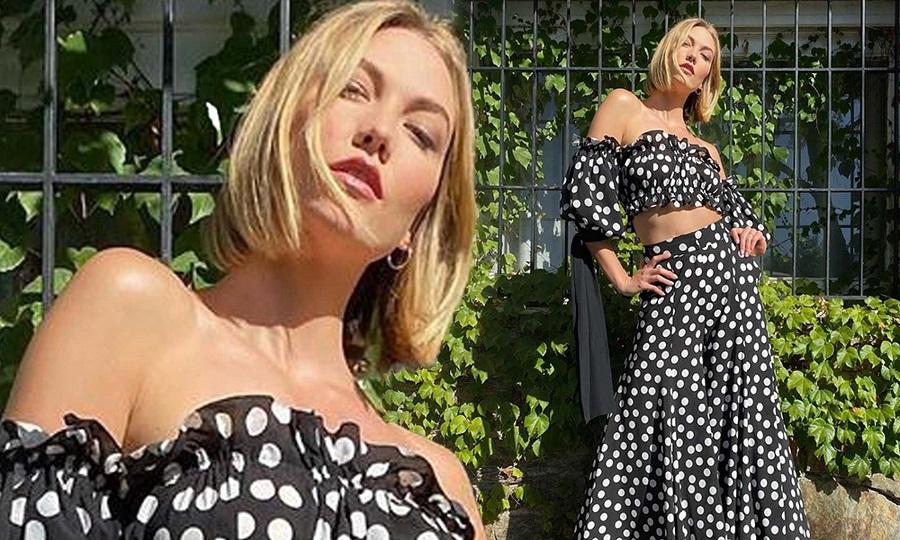 H Karlie Kloss με νέο σούπερ stylish short bob