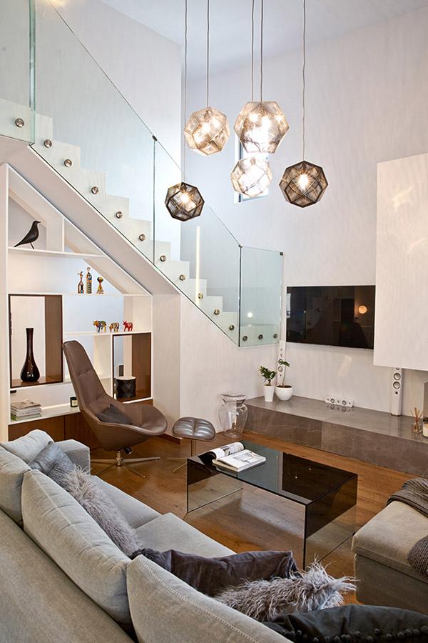 Μία μοντέρνα chic κατοικία στη Θεσσαλονίκη, που αποτελεί design έμπνευση