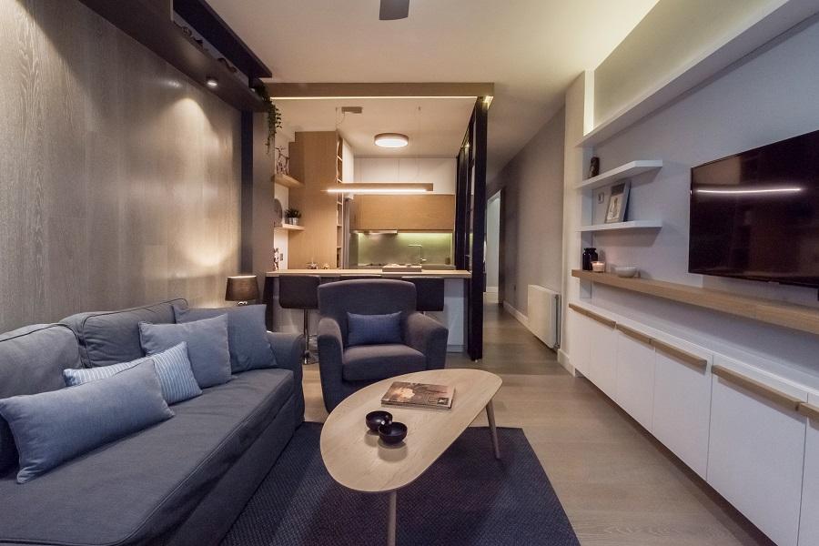 Μία σύγχρονη και καλαίσθητη νεανική κατοικία στη Θεσσαλονίκη