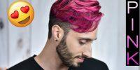 Ποιος pop star έβαψε τα μαλλιά του candy pink;
