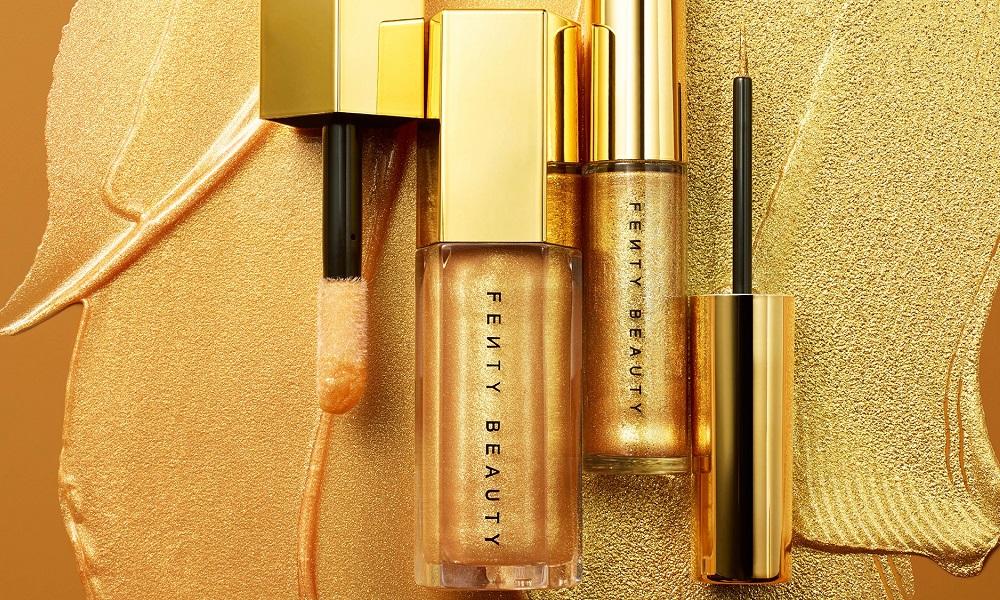 Η νέα χρυσή collection της Fenty Beauty για εορταστικό μακιγιάζ