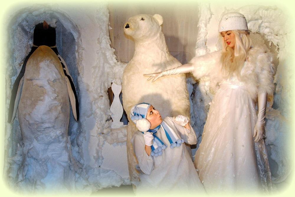 H Βασίλισσα του Χιονιού στο Από Μηχανής Θέατρο