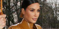 H Kim Kardashian με ένα total latex look