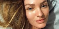 candice without make up