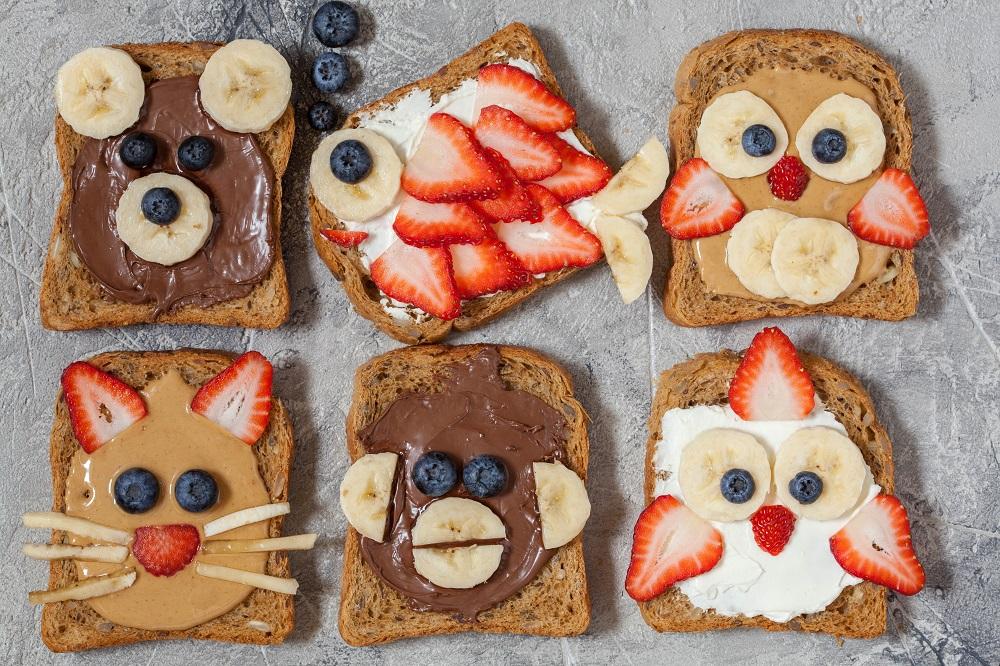 5 healthy και χορταστικά σνακ για τα παιδιά