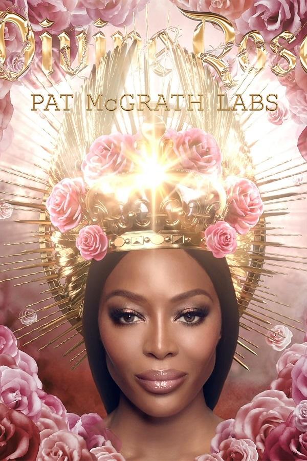 Η Naomi Campbell είναι η πρώτη πρέσβειρα του make up brand Pat McGrath Labs