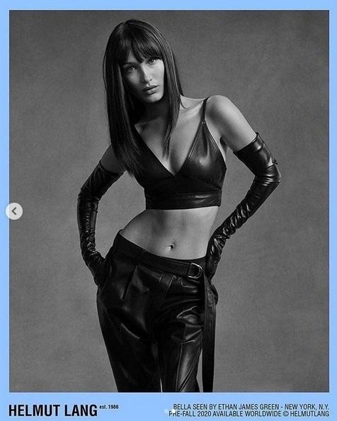 Η Bella Hadid πρωταγωνιστεί στην νέα καμπάνια του Helmut Lang