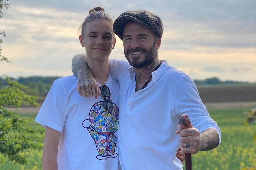 Ο γιος του David Beckham, Romeo, έγινε 18 ετών