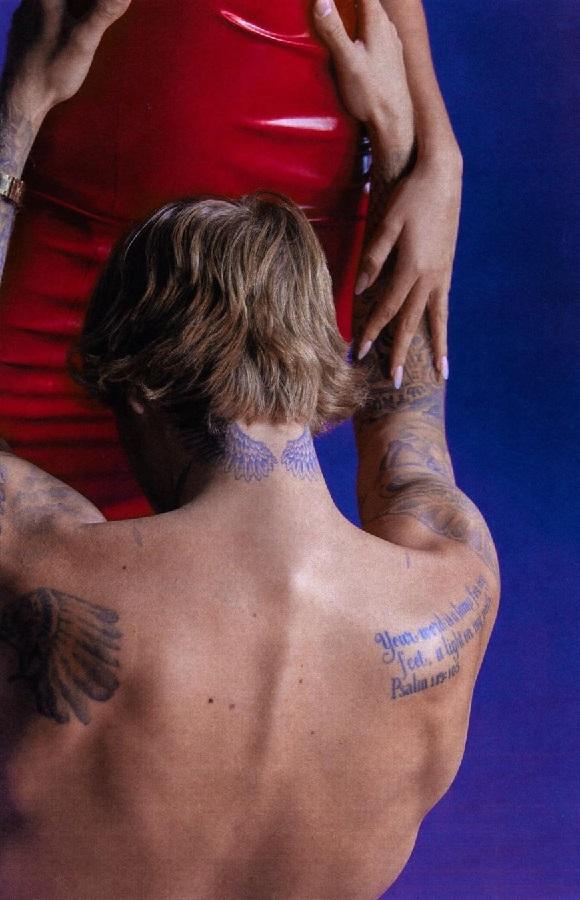 Οι Bieber στο κρεβάτι στην ιταλική Vogue