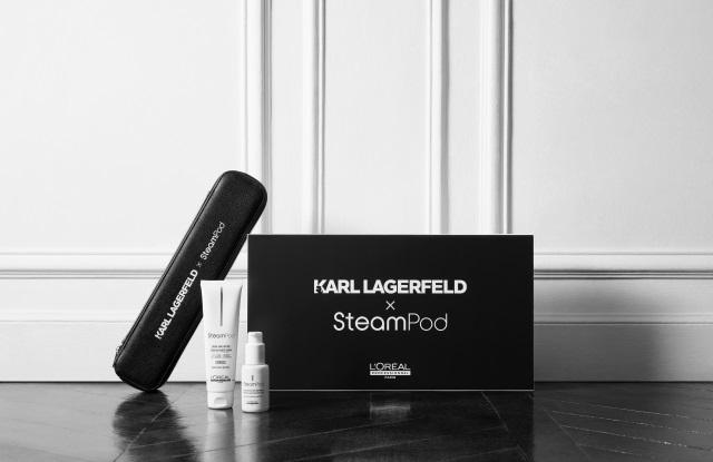 Ο οίκος Karl Lagerfeld και η L'Oréal Professionnel συστήνουν το SteamPod 3.0