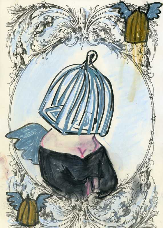 lydia venieri the cage with wings