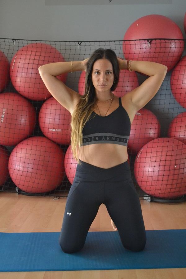 Η μοναδική Μάντη Περσάκη μας δίνει σούπερ fitness tips
