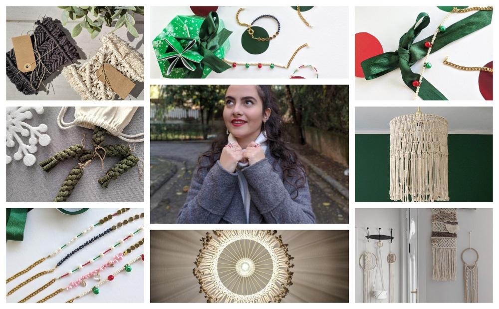 Δέσποινα Μεννή: Τα χριστουγεννιάτικα macrame στολίδια της είναι απλά τέλεια!