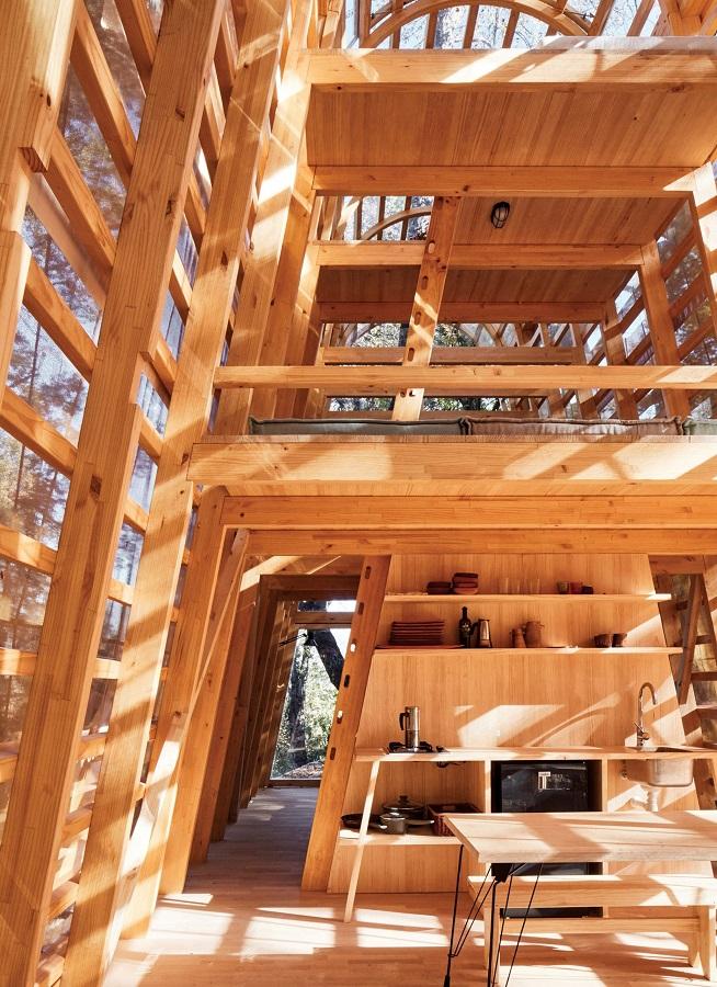La Invernada: Το πιο παραμυθένιο ξύλινο σπιτάκι