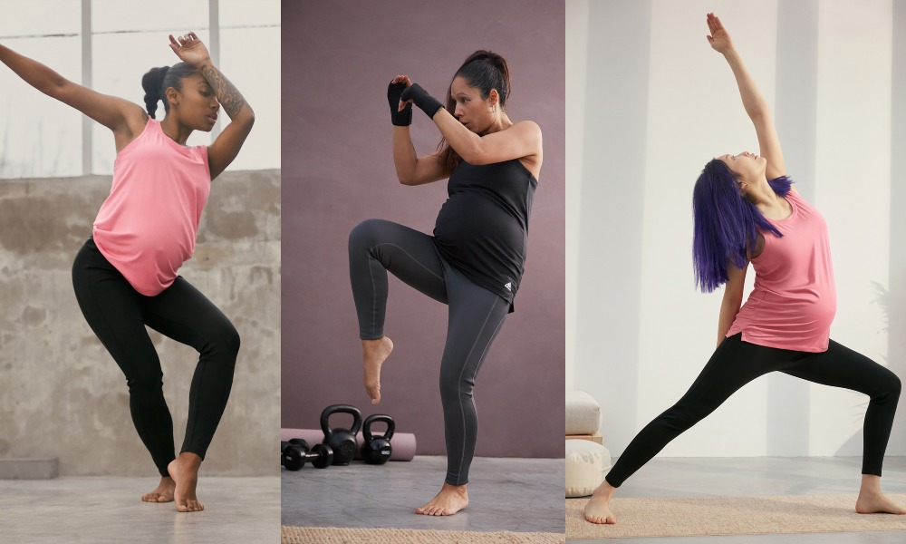 Adidas Maternity collection