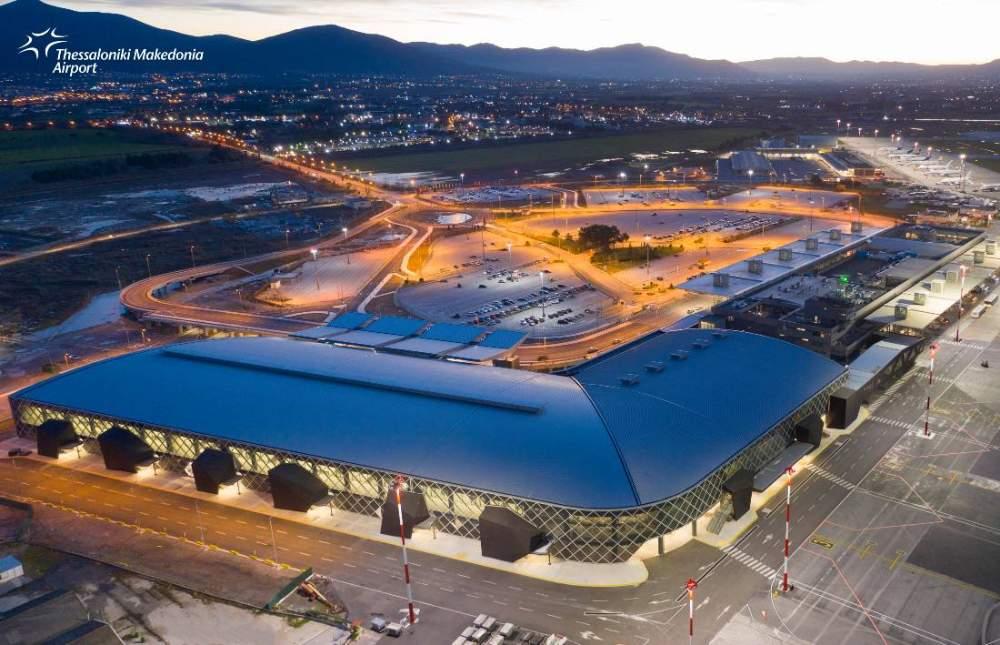 Makedonia airport fraport αεροδρόμιο Μακεδονία νέα εικόνα