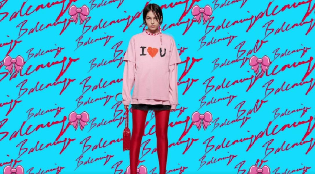 Balenciaga Valentine's collection