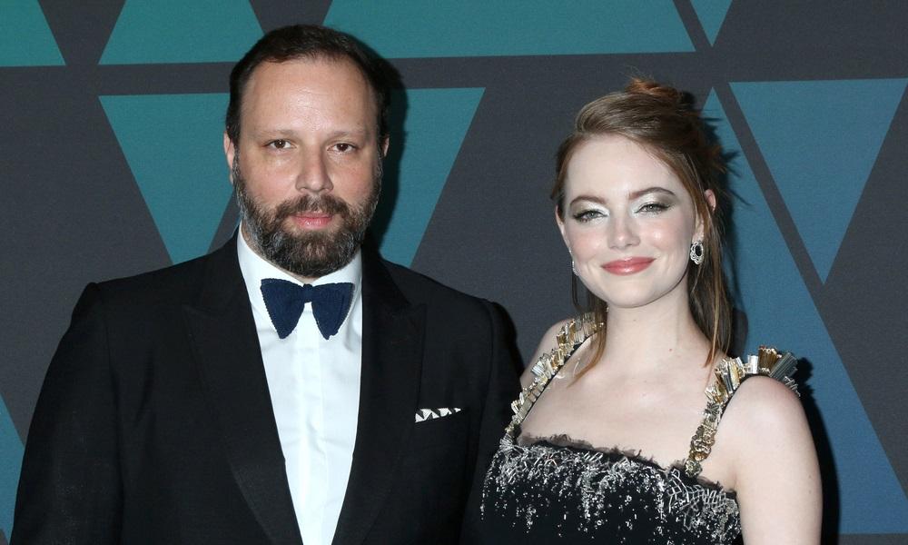 Emma Stone και Γιώργος Λάνθιμος