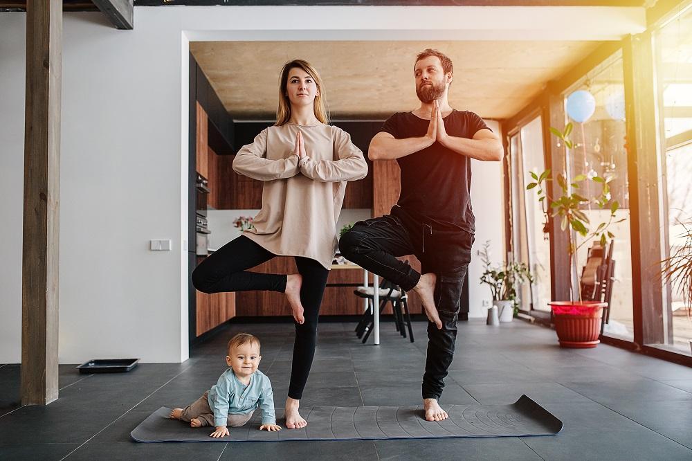 Διασκεδαστική γυμναστική για όλη την οικογένεια (video)