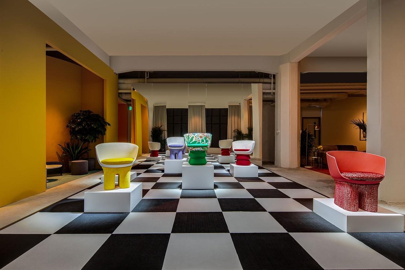 Louis Vuitton furniture collection