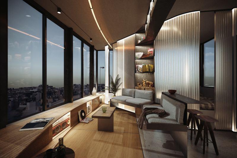 praxitelous loft add architects studio