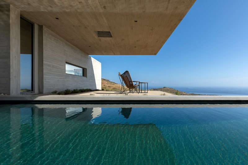 the lap pool house